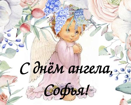 Необычные, открытки с днем ангела софии