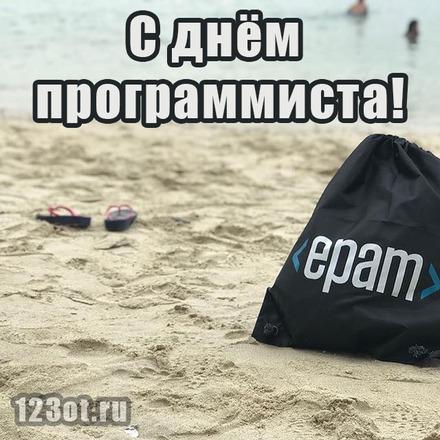 Картинка, открытка лучшему программисту! Скачать бесплатно! Epam Systems! Happy programmers day!  скачать открытку бесплатно   123ot
