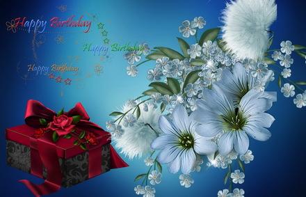 Яркая, красивая открытка с днём рождения любимой жене с текстом, с пожеланием и стихом! Дорогоая женушка, с днём рождения! Открытка с Днем Рождения, цветы, подарок. Скачать открытку на день рождения жене, любимой женщине бесплатно онлайн! скачать открытку бесплатно   123ot