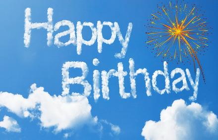 Яркая, красивая открытка с днём рождения любимой жене с текстом, с пожеланием и стихом! Дорогоая женушка, с днём рождения! Открытка с Днем Рождения, небо, надпись. Скачать открытку на день рождения жене, любимой женщине бесплатно онлайн! скачать открытку бесплатно | 123ot
