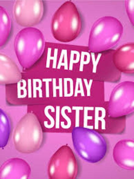 С днем рождения Тебя, сестренка! Красивые открытки с днём рождения женщине для вацап, whatsapp! Скачать бесплатно онлайн! скачать открытку бесплатно | 123ot