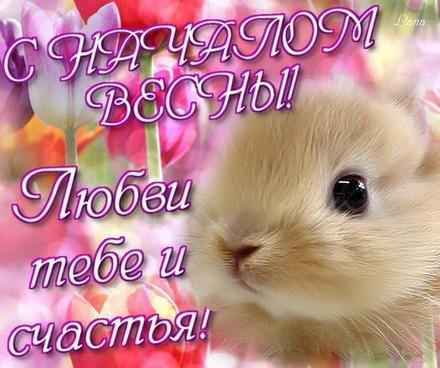 Открытка, картинка, Первый день весны, весна, поздравление, весна пришла. Открытки  Открытка, картинка, Первый день весны, весна, поздравление, весна пришла, мышка скачать бесплатно онлайн скачать открытку бесплатно | 123ot