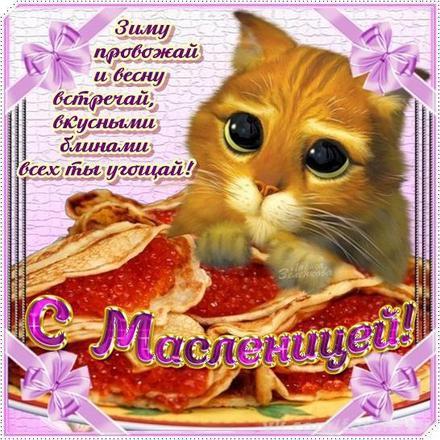 Открытка, картинка, масленица, открытка на масленицу, блины, кот, красная икра. Открытки  Открытка, картинка, масленица, открытка на масленицу, открытка с масленицей, поздравление на масленицу, поздравление с масленицей, масленичная неделя скачать бесплатно онлайн скачать открытку бесплатно | 123ot