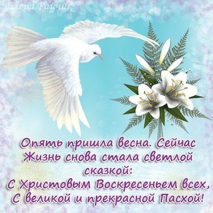 Открытка, картинка, Пасха, праздник, поздравление, Христос воскрес, воскресение, голубь. Открытки  Открытка, картинка, Пасха, праздник, поздравление, Христос воскрес, воскресение, голубь, стихи, цветы скачать бесплатно онлайн скачать открытку бесплатно   123ot