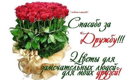 ?? Открытка, картинка букет цветов! Любовь и дружба! Открытка с шикарным  букетом роз! Цветы для замечательных людей для моих друзей! Спасибо за  дружбу! | открытки с цветами | открытка, картинка 123ot