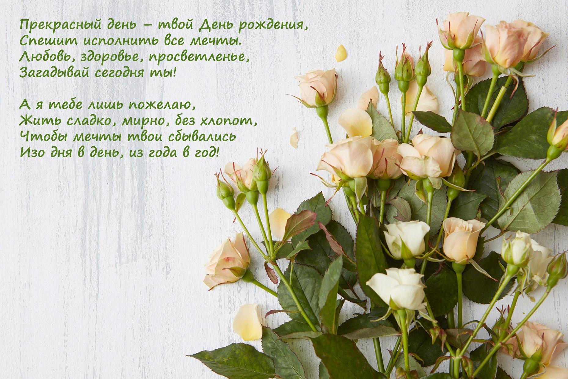 Цветы открытки со стихами, ммс билайн