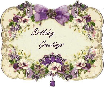 Ретро открытка на день рождения на английском. Открытки  Ретро открытка на день рождения Цветочная на английском скачать бесплатно онлайн скачать открытку бесплатно | 123ot