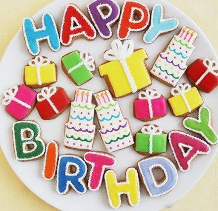 Открытка, картинка, с днем рождения, поздравление, с днём рождения, Happy Birthday, кекс. Открытки  Открытка, картинка, с днем рождения, поздравление, с днём рождения, Happy Birthday, кекс, скачать бесплатно скачать бесплатно онлайн скачать открытку бесплатно | 123ot