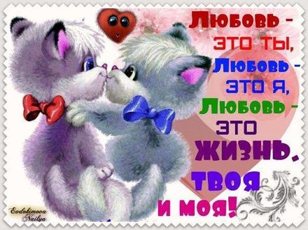 Открытка, любовь, признание в любви, люблю тебя, открытка любовь, для любимого, я люблю тебя, обожаю тебя, я влюблен в тебя, я очень люблю тебя, котята. Открытки  Открытка, любовь, признание в любви, люблю тебя, открытка любовь, для любимого, я люблю тебя, обожаю тебя, я влюблен в тебя, я очень люблю тебя, котята, любовь это жизнь скачать бесплатно онлайн скачать открытку бесплатно | 123ot